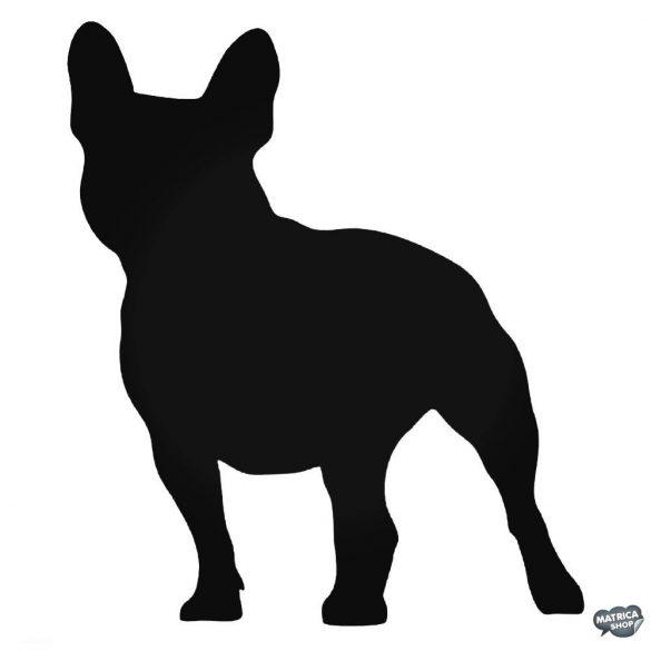 "Francia bulldog ""1"" matrica"