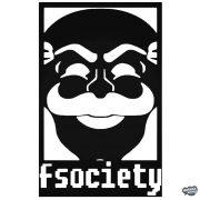 Mr. Robot f society Autómatrica