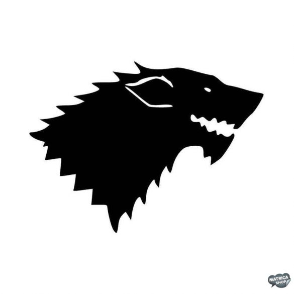 Game of Thrones Stark logó Autómatrica