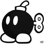 "Super Mario Bomba ""1"" matrica"