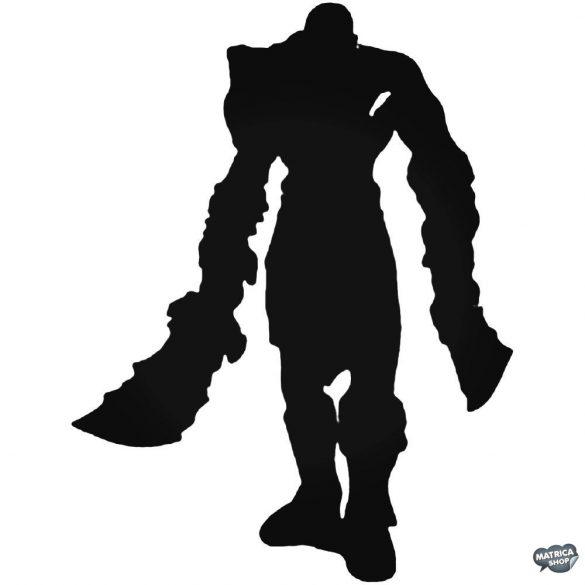 God of War Kratos matrica
