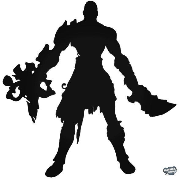 """God of War Kratos """"2"""" matrica"""