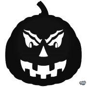 Halloween tök matrica