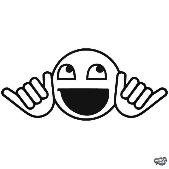Smiley kezekkel Autómatrica