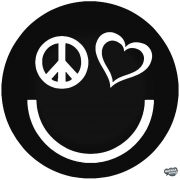 Peace Love Smiley - Autómatrica