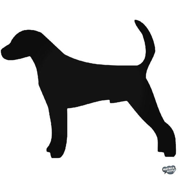 Nyulászkopó kutya matrica