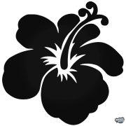 Hawaii hibiszkusz matrica