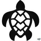 Hawaii teknős matrica