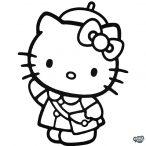 Utazó Hello Kitty Hello matrica