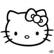 Hello Kitty matrica 1
