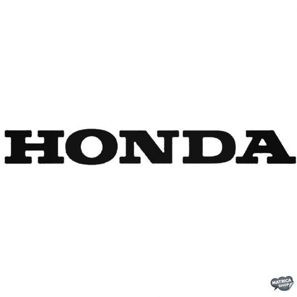 Honda matrica felirat 1