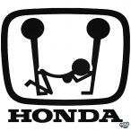 Honda matrica vicces