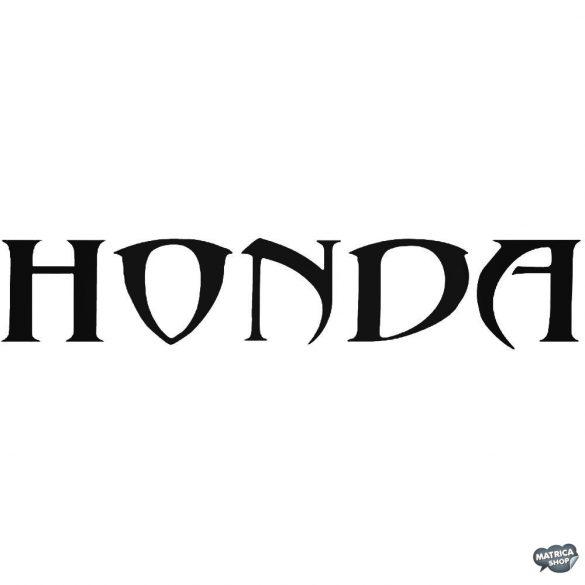 Honda matrica Tribal felirat