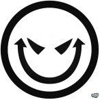 Démoni Smiley matrica