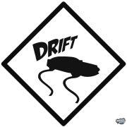 Drift tábla - Szélvédő matrica