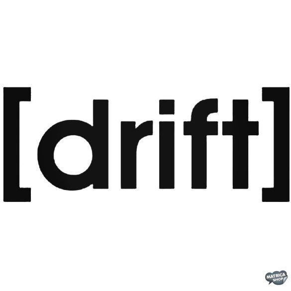 drift - Szélvédő matrica