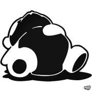 Drift Panda - Szélvédő matrica