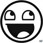 "Smiley ""1"" matrica"