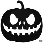 "Halloween tökfej ""1"" matrica"