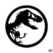 """Jurassic Park logó """"1"""" Autómatrica"""