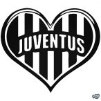 Juventus csapat matrica