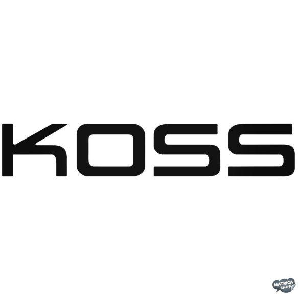 KOSS felirat - Autómatrica