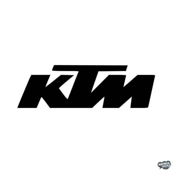 KTM felirat matrica