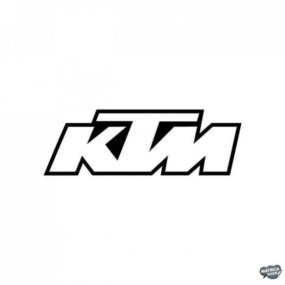"KTM felirat ""1"" matrica"