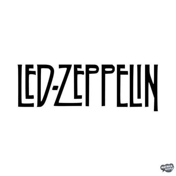 Led Zeppelin felirat Autómatrica