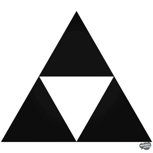 "Zelda triforce ""1"" matrica"