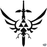 Zelda Mesterkard matrica