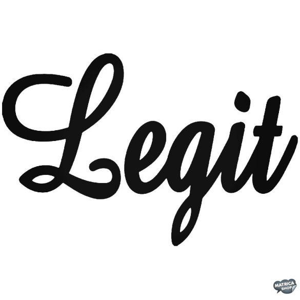 """Legit """"1"""" Autómatrica"""
