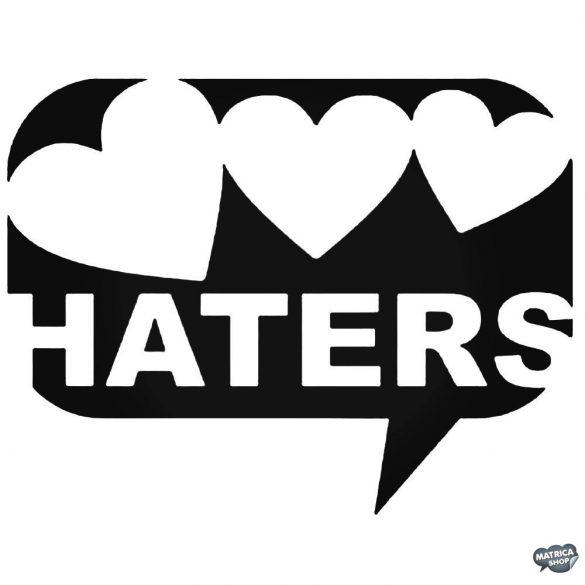 Love Haters szivecskék - Autómatrica