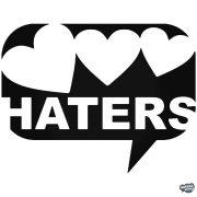 """Love Haters szivecskék """"1"""" - Autómatrica"""