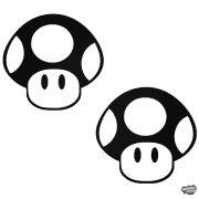 2 gomba Super Mario matrica