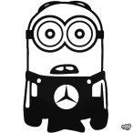 Minion Mercedes matrica