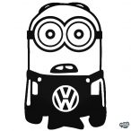 Minion VW matrica