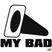 My BAD felirat - Autómatrica