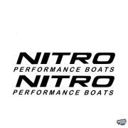 2x Nitro Performance - Szélvédő matrica