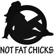 No FAT Chicks nő - Autómatrica
