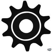 BMX csavar - Szélvédő matrica