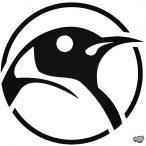"""Pingvin Madár """"1"""" matrica"""