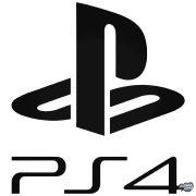 """PS4 felirat és logó """"1"""" matrica"""