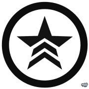 Mass Effect Renegade szimbólum matrica