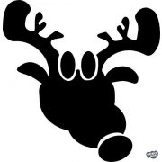 Rudolf a rénszarvas matrica