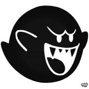 Támadó szellem Super Mario matrica