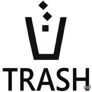 Trash logó (szemetes) Autómatrica
