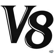 V8 felirat - Autómatrica