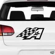 Alpinestar Racing - Szélvédő matrica