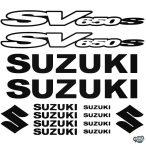 Suzuki SV650S szett matrica